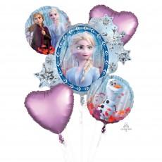 Disney Frozen 2 Bouquet Foil Balloons Pack of 5