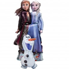 Disney Frozen Frozen 2 Elsa, Anna & Olaf Airwalker Foil Balloon