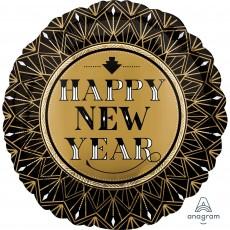 New Year Roaring Twenties Standard HX Foil Balloon 45cm