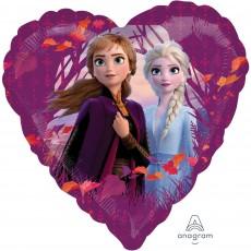 Heart Disney Frozen 2 Standard HX Love Shaped Balloon 45cm