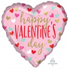 Valentine's Day Standard HX Fun Hearts Shaped Balloon