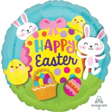 Easter Standard HX Big Egg Foil Balloon