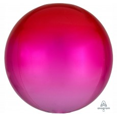 Pink Red &  Ombre  Shaped Balloon