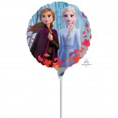 Round Disney Frozen 2 Foil Balloon 22cm