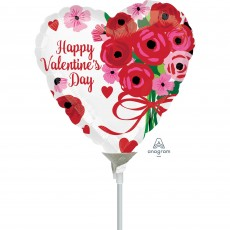 Valentine's Day Party Decorations - Shaped Balloon Lovely Roses 22cm
