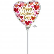 Valentine's Day Playful Hearts Shaped Balloon