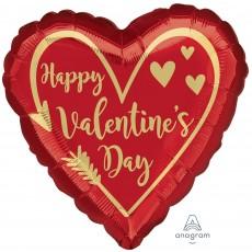 Valentine's Day Jumbo Shape HX Arrow Heart Shaped Balloon