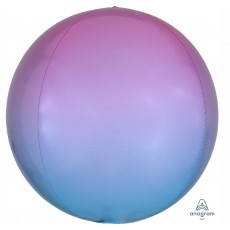 Blue Pastel Pink &  Ombre  Shaped Balloon