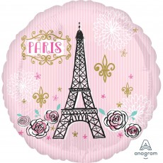 Party in Paris Standard HX Oui Oui Foil Balloon