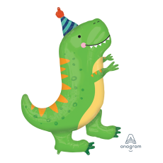 Dinosaur SuperShape XL Dinomite T-Rex Shaped Balloon