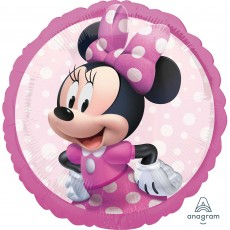 Round Minnie Mouse Forever Standard HX Foil Balloon 45cm