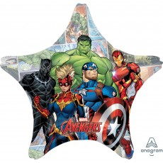 Avengers Jumbo HX Marvel Powers Unite Shaped Balloon