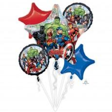 Avengers Marvel Powers Unite Bouquet Foil Balloons
