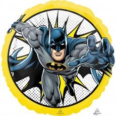 Round Batman Standard HX Foil Balloon 45cm