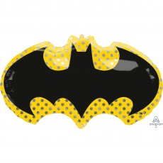 SuperShape Batman Symbol Shaped Balloon 76cm x 43cm