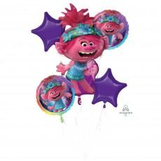 Trolls World Tour Bouquet Foil Balloons