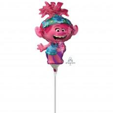 Trolls World Tour Poppy Mini Shaped Balloon