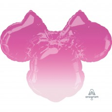 Minnie Mouse Forever SuperShape Ombre Shaped Balloon 71cm x 58cm