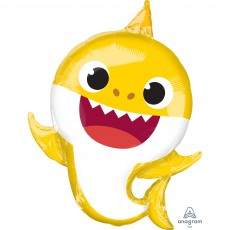 Baby Shark Party Decorations - Shaped Balloon SuperShape XL