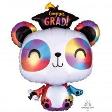 Graduation SuperShape XL Panda Congrats Grad! Shaped Balloon 60cm x 73cm