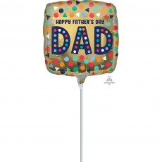 Happy Father's Day Dad Foil Balloon 22cm
