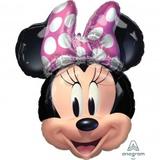 Minnie Mouse Forever SuperShape XL Shaped Balloon