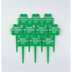 St Patrick's day Plastic Party Picks