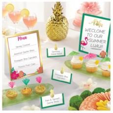 Hawaiian Party Decorations Aloha Mini Buffet Decorating Kits