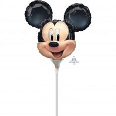 Round Mickey Mouse Forever Mini Foil Balloon