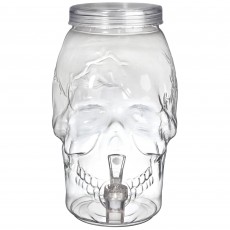 Halloween Party Supplies - Skull Shaped Drink Dispenser