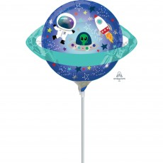 Blast Off Mini Spaced Out Planet Shaped Balloon
