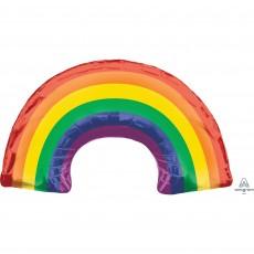 Rainbow SuperShape Shaped Balloon