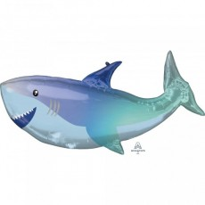 Shark Splash SuperShape XL Shark Shaped Balloon