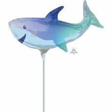 Shark Splash Mini Shark Shaped Balloon
