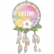 Feeling Groovy & 60's SuperShape XL Dream Catcher Shaped Balloon