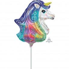 Unicorn Fantasy Party Decorations - Shaped Balloon Mini Unicorn