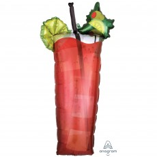 Mexican Fiesta SuperShape XL Bloody Mary Drik Shaped Balloon