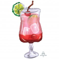 Misc Occasion SuperShape XL Gin Fizz Drink Shaped Balloon 45cm x 93cm
