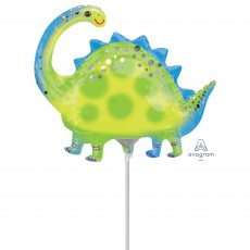 Dinosaur Mini Stegosaurus Shaped Balloon
