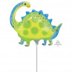 Mini Stegosaurus Dinosaur Shaped Balloon