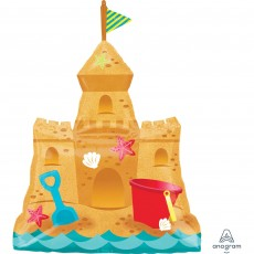Misc Occasion SuperShape XL Sandcastle Shaped Balloon