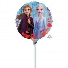 Round Disney Frozen 2 Foil Balloon 10cm
