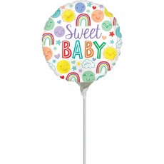 Baby Shower Party Decorations - Foil Balloon Icons Sweet Baby