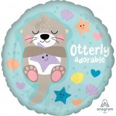 Baby Shower - General Standard HX Otter Foil Balloon