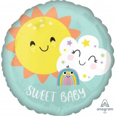 Baby Shower - General Standard HX Rainbow Foil Balloon