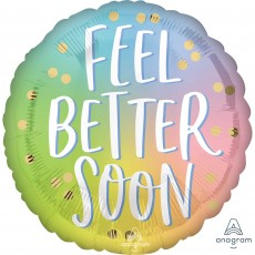 Get Well Party Decorations - Foil Balloon HX Ombre Feel Better Soon