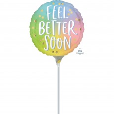 Get Well Party Decorations - Foil Balloon Ombre Feel Better Soon