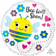 Get Well Party Decorations - Foil Balloon Standard HX Bee Well Soon!