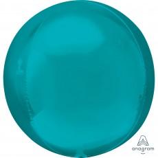 Green Aqua  Shaped Balloon