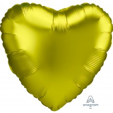 Green Satin Luxe Lemon Standard HX Shaped Balloon